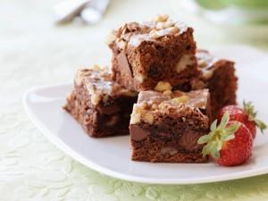 Brownie met vanille parfait (ingezonden recept)
