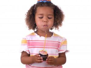 Kersen en chocolade cupcake