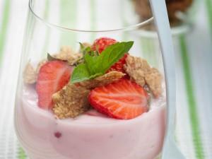 Aardbeienmousse (ingezonden recept)
