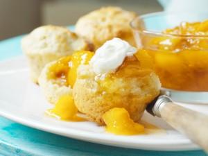 Abrikozenjam op scones