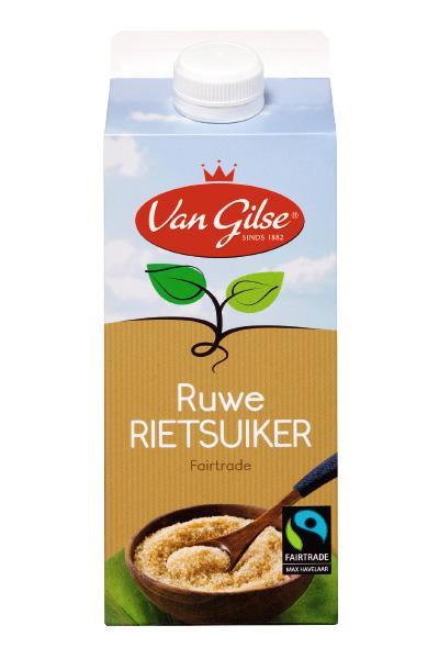 Van Gilse Fairtrade Ruwe Rietsuiker